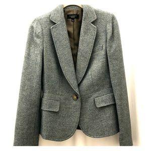 Green Tweed Fall Blazer